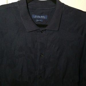 Zara Man Slim Fit Button Down Shirt